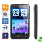"E7 Android 2.3 GSM TV Smartphone w/ 4.3"" TFT Capacitive, Dual SIM, Wi-Fi and GPS - Black"