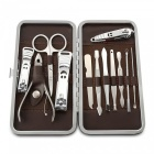 10-in-1 Stainless Steel Nail Care Manicure Set