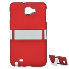 Protective Back Case for Samsung i9220 - Wine Red