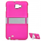 Protective Back Case Cover for Samsung i9220 - Deep Pink