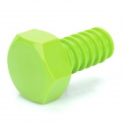 Cool Creative Screw Style Wall Hook Hanger - Green