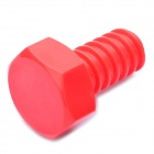 Cool Creative Screw Style Wall Hook Hanger - Red
