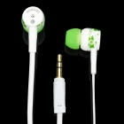 SQ-85MP Fashion In-Ear Stereo Earphone - White (3.5mm-Jack / 130CM-Cable)