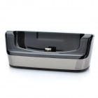 Mini Charging Dock Cradle for Samsung 8600 - Black + Silver