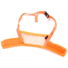 Useful Adjustable Pet Dog Muzzle Set - Orange (Size-L)