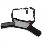 Useful Adjustable Pet Dog Muzzle Set - Black (Size-L)