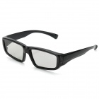 Stylish Circularly Polarized 3D Glasses - Black