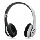 Genuine ZORO High Performance Folding Headphone Headset - White + Black
