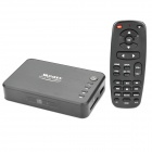 1080P HD Media Player with Remote Controller / HDMI / SD / USB / AV-Out - Black