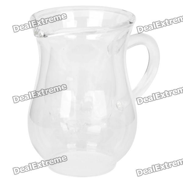 Creative Hollowed Milk Glass Jug (135ml)