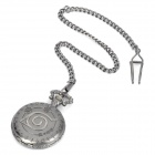 Fashion Naruto MuYe Sign Style Quartz Pocket Watch with Chain