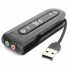 3-портовый USB HUB / USB Combo Audio - Black