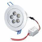 5W 480LM 2500K Warm White 5-LED Ceiling Light (85~265V)