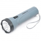 Rechargeable White Light 4-LED Flashlight - Deep Grey (110~220V)