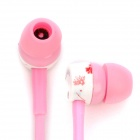 SONGQU SQ-84MP Fashion Stereo Earphone without Microphone - Pink