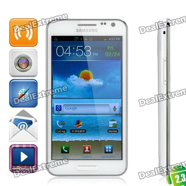 "Samsung GALAXY S II HD LTE Android 2.3 WCDMA Cellphone w/4.6"" Capacitive and GPS - White (16GB)"