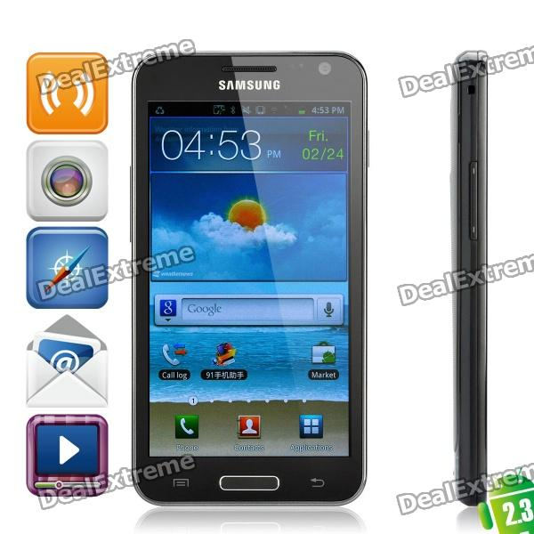 "Samsung Galaxy S II HD LTE Android 4.1.2 WCDMA cellulare w / 4.6"" capacitivo e GPS - nero (16 GB)"