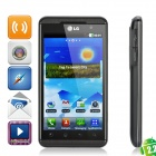 "LG Optimus 3D P920 Android 2.2 WCDMA Dual-Core Smartphone w/4.3"" Capacitive, Wi-Fi and GPS - Black"