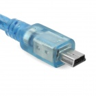 Mini USB to USB Female Adapter Cable - Blue