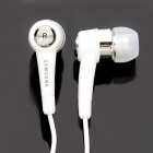 Genuine Samsung In-Ear Earphone w/ Microphone for Samsung i9000 + More - White (120CM / 3.5MM Jack)