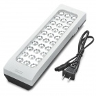 Rechargeable 30-LED 2-Mode Cold White Light Emergency Lamp w/ Hook