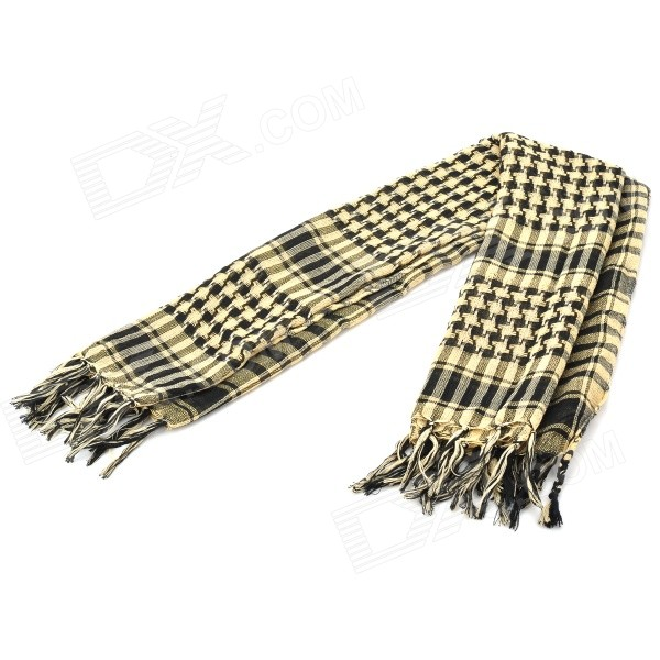 Outdoor Sports 100% Dacron Tassel Shawl Scarf (Thin Pattern)