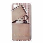 Protective Nostalgia Lighter Style PC Case for iPhone 4 - Grey