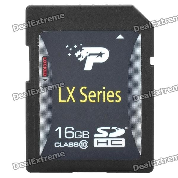 Patriot CLASS 10 SD Card - Black (16GB)
