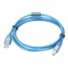 USB 2.0 A Male to B Male Connection Cable - Blue (150cm)