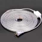 Outdoor Waterproof 24W 320LM/M 6000~6500K 300-LED Neutral White Light Strip (AC 220V / 5M-Length)