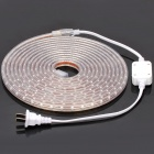 Outdoor Waterproof 24W 900-1300MCD/PC 300-LED Light Strip - Green Light (DC 220V / 5M-Length)