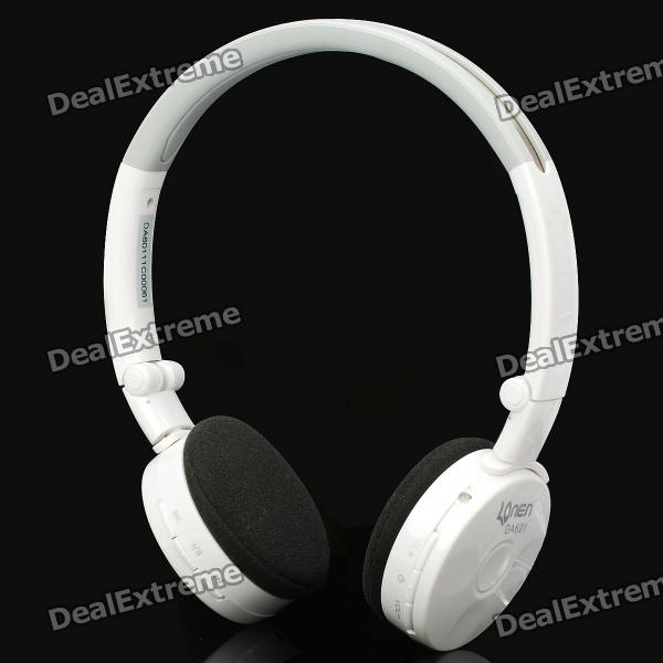 Stylish Rechargeable Folding 2.4GHz Wireless Headphone Headset w/ Microphone / USB Transmitter