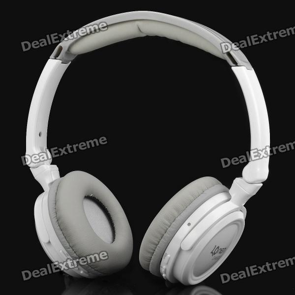 fashion-da602-24g-wireless-headset-earphone-w-microphone-white-grey
