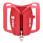 Universal Aluminum Alloy Waist Belt Buckle for DSLR - Red