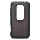 Protective PC Back Case for HTC EVO 3D - Black + Coffee