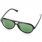 Stylish UV400 UV Protection Sunglasses with Acetate Frame - Black