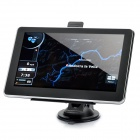 "7.0"" Touch Screen WinCE 6.0 MTK3351 GPS Navigator with FM / 4GB TF Card w/ America Map - Black"