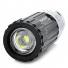 Rechargeable Car Cigarette Powered 1W 45lm 7000K White LED Flashlight