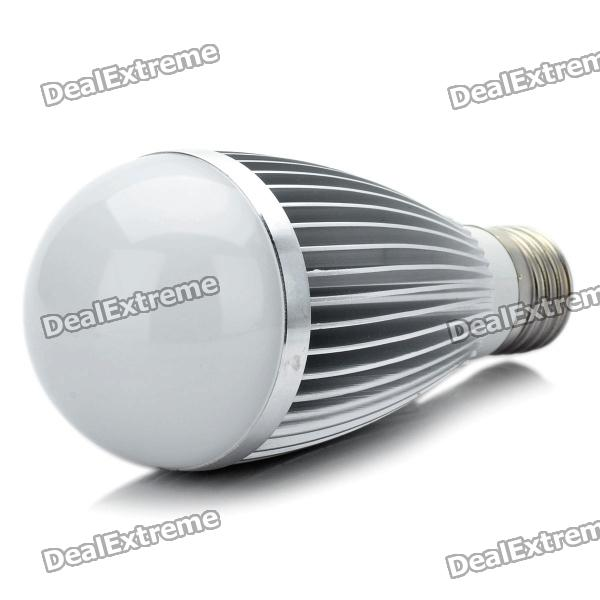 E27 7W 665LM 6000K Cool White Light 7-LED Globular Bulb (AC 89~265V)E27<br>Material:AluminumForm  ColorWhitePower1WConnector TypeE27,E2Emitter TypeLEDTotal Emitters:7PowerColor BINWhiteColor Temperature6000KPacking List<br>