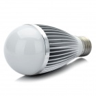E27 7W 665LM 6000K White 7-LED Light Bulb - Silver (89~265V)