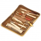 9-in-1 Stainless Steel Nail Care Manicure Set