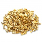 Copper Cable Wire Terminal Connector - Gold (50-Pair Pack)