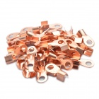 Copper Cable Wire Ring Terminal Connector (6MM / 50 Piece Pack)