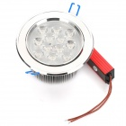 12W 6500K 1050-12-Lumen-LED White Light Decke bis Lamp (AC 100 ~ 245V)