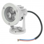 3W 3500K 260-Lumen 3-LED Warm White Light Spot Lamp (DC 12V)