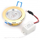 3W 3500K 360-Lumen 3-LED Warm White Light Decke bis Lampe w / Driver (AC 100 ~ 245V)