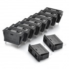 AC 250V 10A плоский 2 Pin гнездо Power Plug (10-Piece Pack)