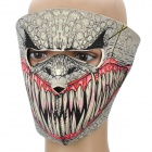 Cool Monster Pattern Outdoor Sports Mask
