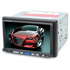 "7"" Resistive Screen Car DVD Media Player w/ TV / Bluetooth / FM / 3D / SD / USB"