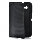 Stylish Protective Ultra Slim PU Leather Case for Samsung Tab P6200